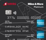 Swiss Miles & More Platinum Kreditkarte American Express